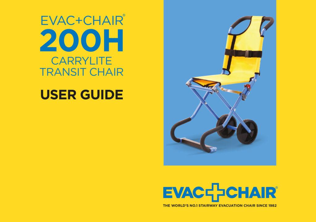Evac+Chair-200H-User-Guide