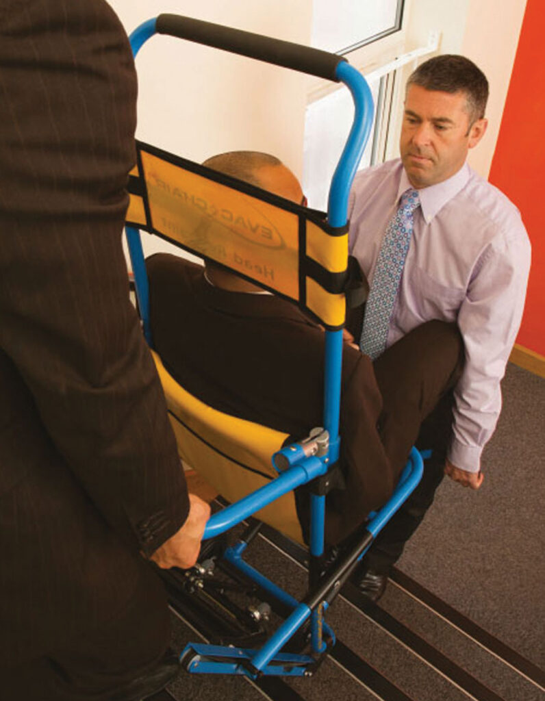 How long does it take to learn how to use an Evac+Chair evacuation chair?